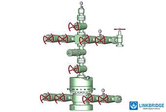 Split X Mas Tree For Oil Gas Linkbridge Oilfield Supply Service